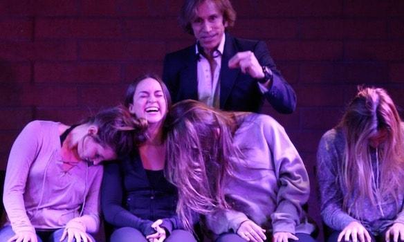 ASU Alpha Phi Sorority Hypnosis Show at the Tempe Improv